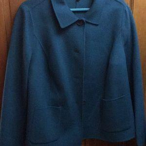Talbots Wool Jacket 14W new